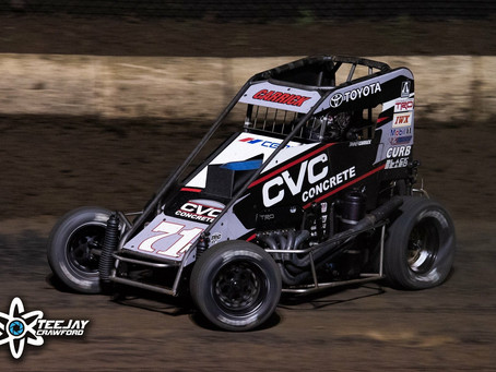 Tanner Carrick Tallies Trio Of USAC Top-Five's During Mid-America Midget Week