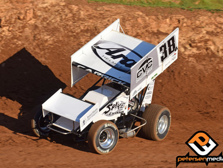 Blake Carrick 17th with Sprint Car Challenge Tour