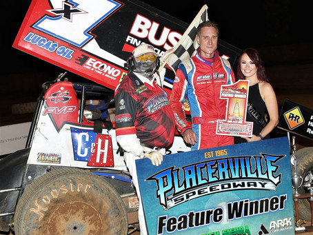 Forsberg, Jinkerson, Struthers and Fendley win on Legends Night