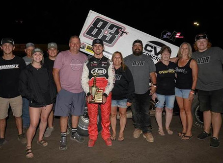 Marysville Win Tops Strong Weekend in California for Tanner Carrick