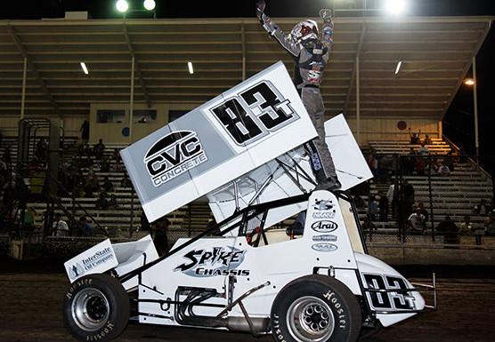 SilverDollar Speedway Sprint Car Win