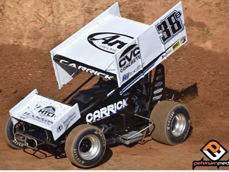 Blake Carrick Second at Marysville Raceway