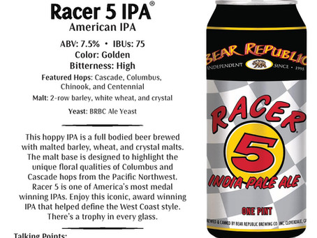 Sponsor Spotlight: Bear Republic Brewing Company