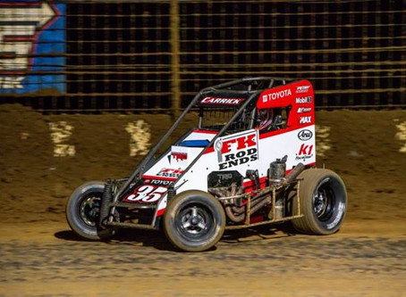 Carrick Scores Top-10 at Gas City During 'Double-Double' Weekend