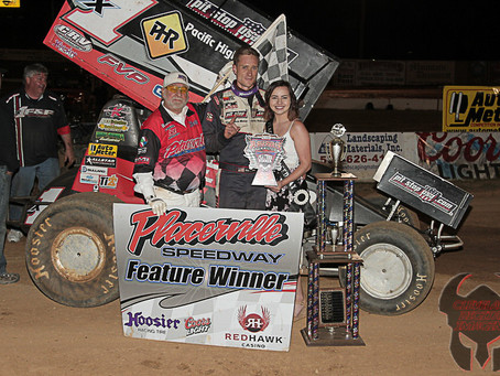 Forsberg scores Placerville win number 60 on Saturday