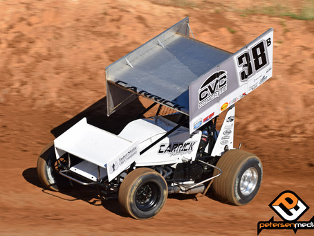 Blake Carrick 12th During First Visit to Placerville Speedway