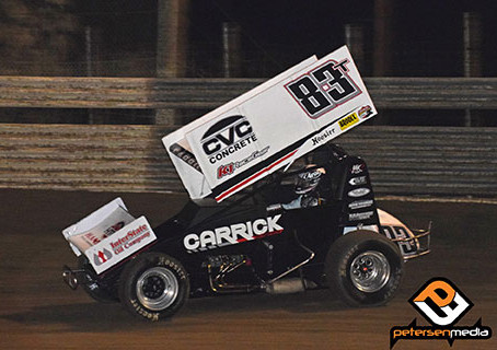 Busy Weekend Sees Carrick Captures ASCS National and USAC National Top 10 Finishes