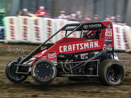 Carrick Charges in Chili Bowl Debut