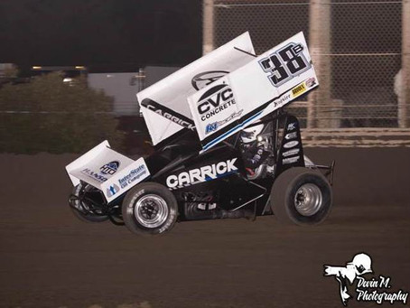 Blake Carrick Nets Third Place Finish at Antioch Speedway