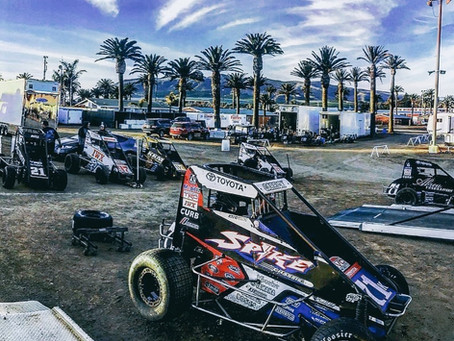 Carrick Charges From 20th to 10th in Bakersfield, CA