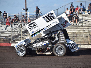 Blake Carrick Ready for KWS Speedweek Following 7th Place Finish in Chico, CA