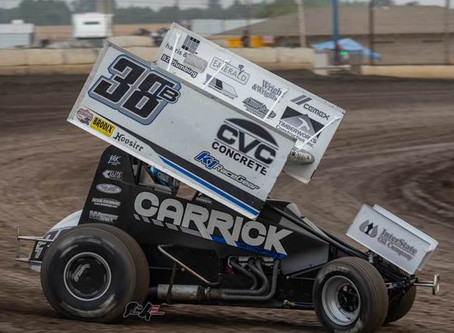Blake Carrick 5th at Marysville Raceway's 'Tribute To Gold Cup'