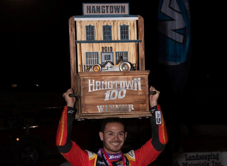 LARSON LOOTS $32,000 PAYDAY AT HANGTOWN 100