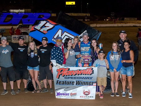 Shane Golobic wins on 4th of July at Placerville Speedway