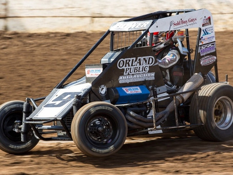 USAC WESTERN STATES MIDGETS EYE MERCED AND PLACERVILLE RETURN
