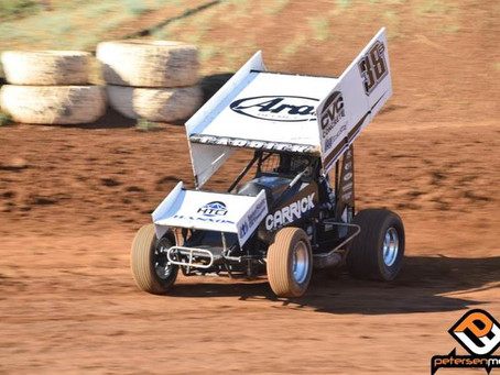 Blake Carrick Charges to Fifth at Placerville Speedway