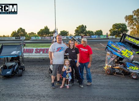 Chase Johnson Snags Win Late in Race, Scores First Victory of 2017