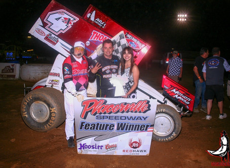 Justin Sanders wins again at Placerville Speedway