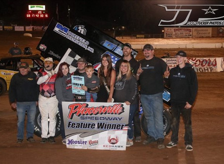 Justyn Cox opens Placerville season in victory lane