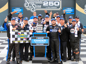 BOYD CAPTURES YOUNG'S MOTORSPORTS FIRST ORGANIZATION WIN AT TALLADEGA