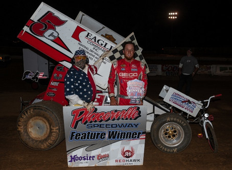 Copeland, Brown, Ewing and Miller win at Placerville Speedway