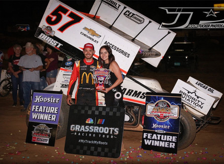 KYLE LARSON IS THE MAN AT PLACERVILLE SPEEDWAY