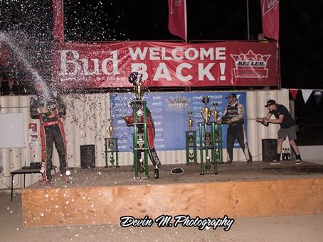 Sprint Car Challenge Tour round four goes to Fresno's Dominic Scelzi
