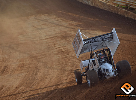 B-Main Tumble Ends Blake Carrick's Night in Placerville, CA