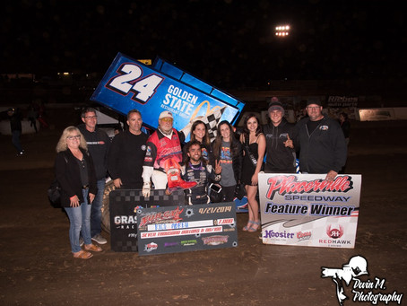 Abreu wins a thriller at Placerville Speedway