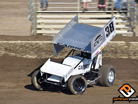 Blake Carrick Back In Placerville Speedway Top-10