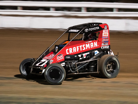 Tanner Carrick Gets USAC Season Kicked off at Bubba Raceway Park