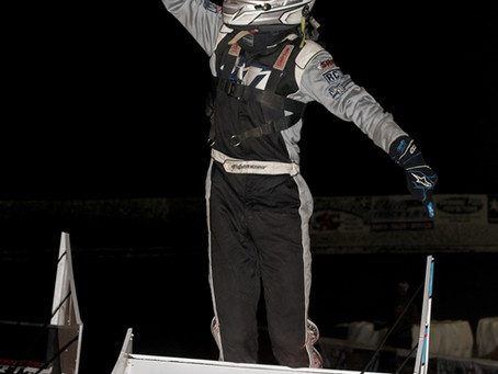 Kalib Henry Dominates Night One of Kyle Larson's Outlaw Kart Showcase presented by BRANDT!
