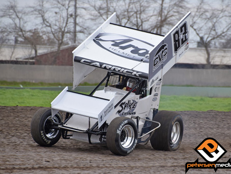 Tanner Carrick Strong at Stockton Until Late Issue Ends Top-Five Bid