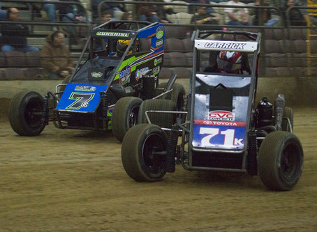 Tanner Carrick Scores Hard Fought Top-10 at Junior Knepper 55
