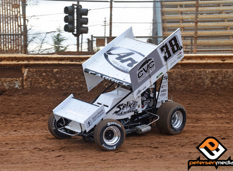 Blake Carrick 13th at Placerville Speedway