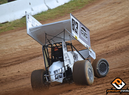 Tanner Carrick Charges To Placerville Speedway Top-10 From Back of the Pack