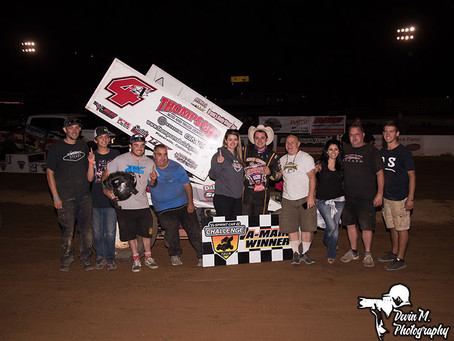 Justin Sanders and Chase Johnson pick up Sprint Car Challenge Tour wins over the weekend