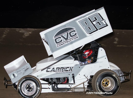 Tanner Carrick Takes In Three Nights of Action with Lucas Oil ASCS National Tour