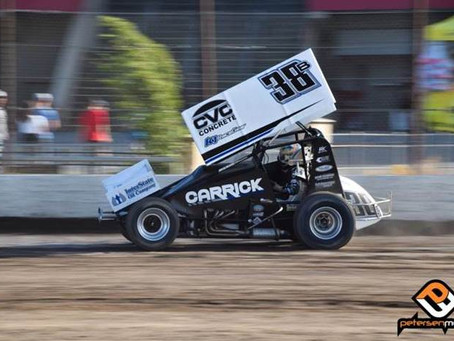 Blake Carrick Works His Way Through Field at Stockton and Marysville