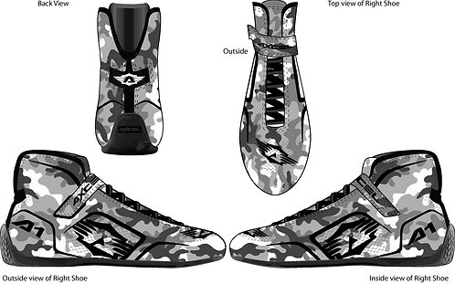 Axcel A1 High Top Shoes
