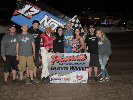 Golobic doubles down at Placerville Speedway Saturday
