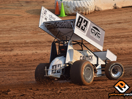 Tanner Carrick Runs Fifth at Ocean Speedway