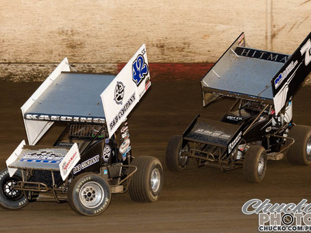 Sprint Car Challenge Tour brings tight point race into Placerville/ Petaluma double-header this week