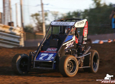 Tanner Carrick Picks up Top-10 in Jacksonville, IL