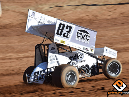 Carrick Battles to Placerville Speedway Top-10