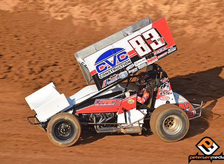 Tanner Carrick Races Way Into Placerville SCCT Feature Before Third Place Run at Showcase Tune Up