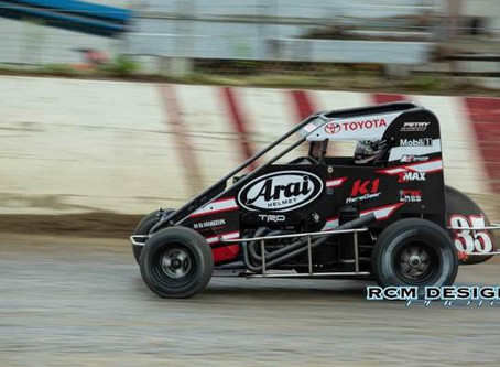 Carrick Third at Valley Speedway with Petry Motorsports