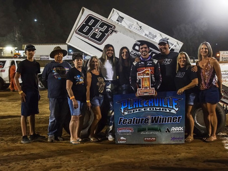 Tanner Carrick claims 4th Placerville win of season