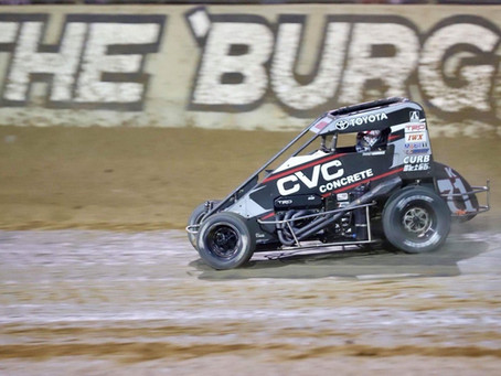 Indiana Midget Weeks Blends to Illinois Midget Week for Tanner Carrick