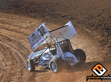 Carrick Sixth at Silver Dollar Speedway